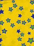 Starry Night - Yellow Green